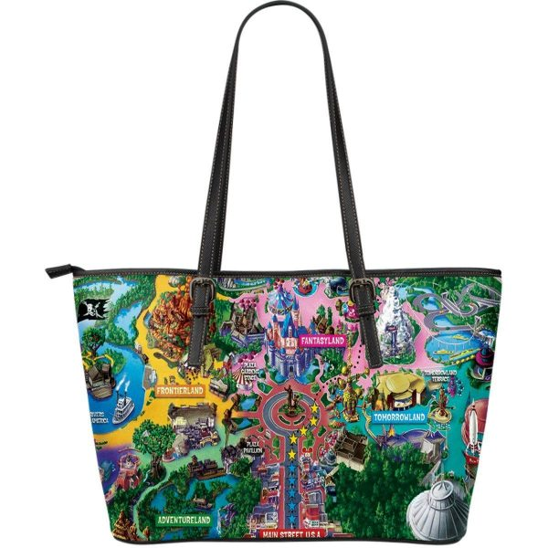 Magical Kingdom Map | Handbags