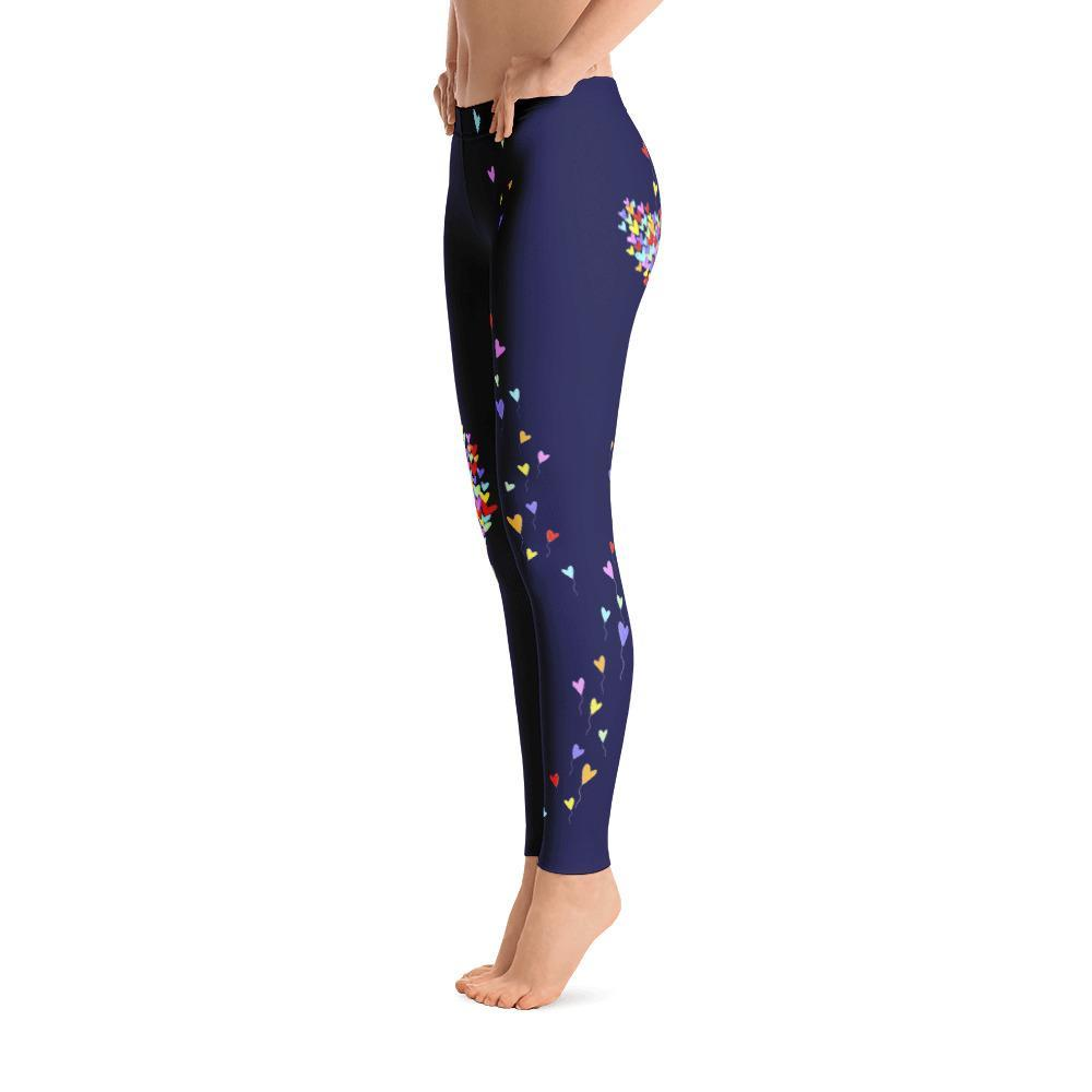 Love Lifts Us Up Leggings Made In The Usa Disney Inspired Fashion Plus Rundisney Apparel Main Street Bella