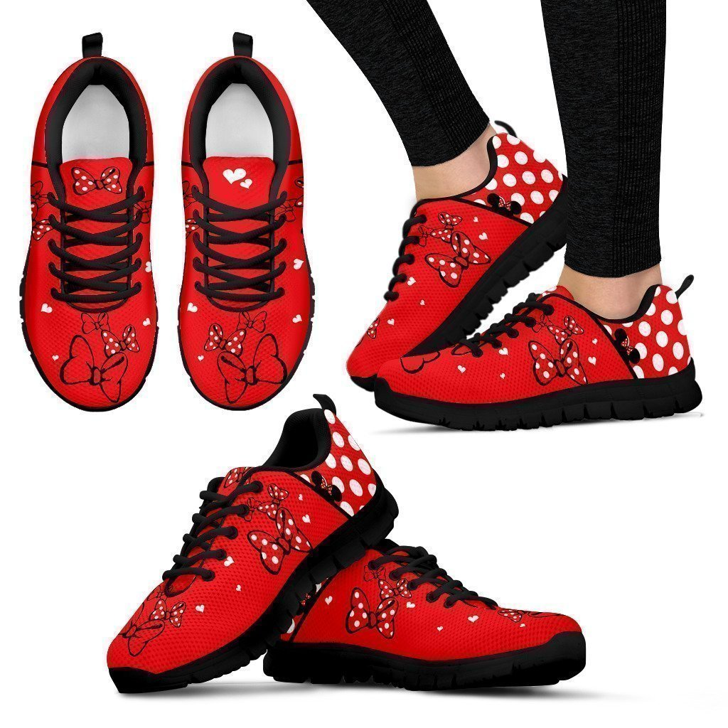 Dots and Bows | Minnie Mouse Inspired Shoes