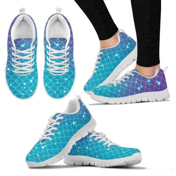 Mermaids and Bubbles | Sneakers