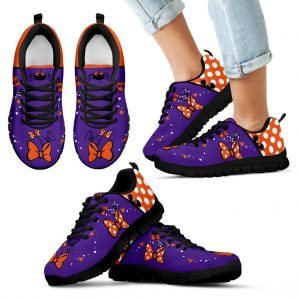 Dots and Bows   Minnie Inspired Halloween Shoes