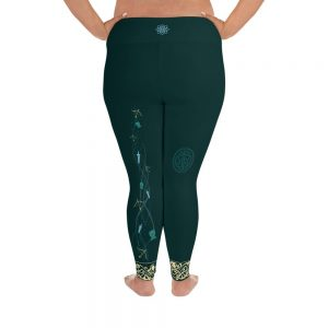 Change Your Fate | Curvy Leggings  | Made in the USA
