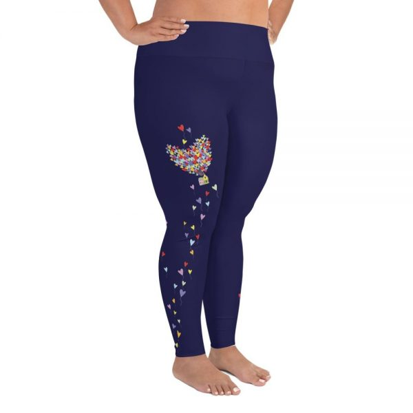 Love Lifts Us Up | Curvy Leggings  | Made in the USA