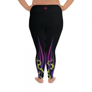 Mistress Of Evil | Curvy Leggings | Made in the USA