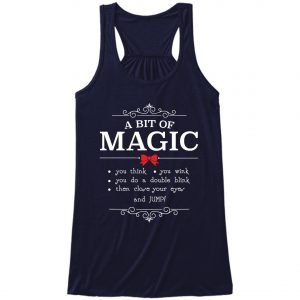 A-bit-of-magic-ladies-flow-tank-top-navy