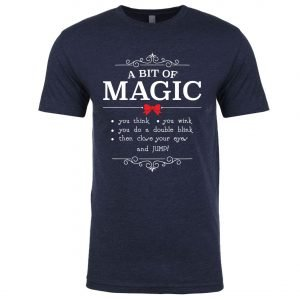 A-bit-of-magic-unisex-cotton-poly-crew-navy