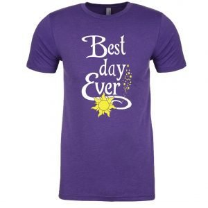 Best-day-ever-unisex-cotton-poly-crew-purple