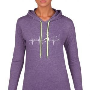 Heartbeat-of-magic-ladies-lightweight-hoodie-purple