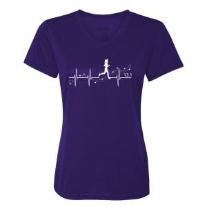 Heartbeat-of-magic-ladies-performance-vneck-purple