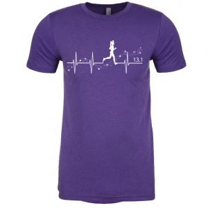 Heartbeat-of-magic-unisex-cotton-poly-crew-purple