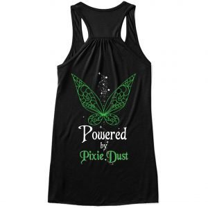 Powered-by-pixie-dust-back-ladies-flowy-tank-black