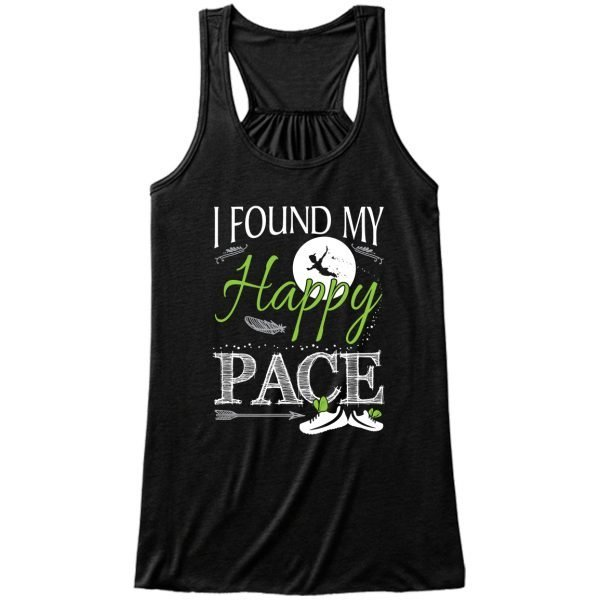 found-my-happy-pace-ladies-flowy-tank-top-black