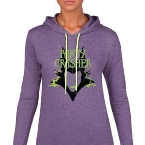 party-crasher-ladies-lightweight-hoodie-purple