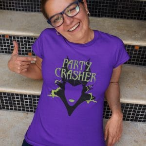party-crasher-unisex-cotton-poly-crew-purple-model