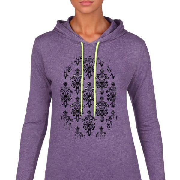 Magically-Haunted-lightweight-hoodie-Purple