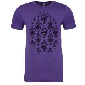 Magically-Haunted-unisex-tee-Purple