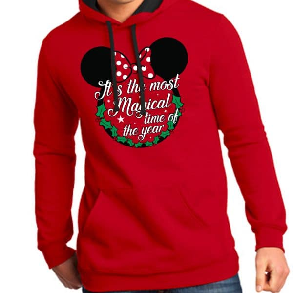 Most-Magical-Time-Of-The-Year-Unisex-Hoodie-Red