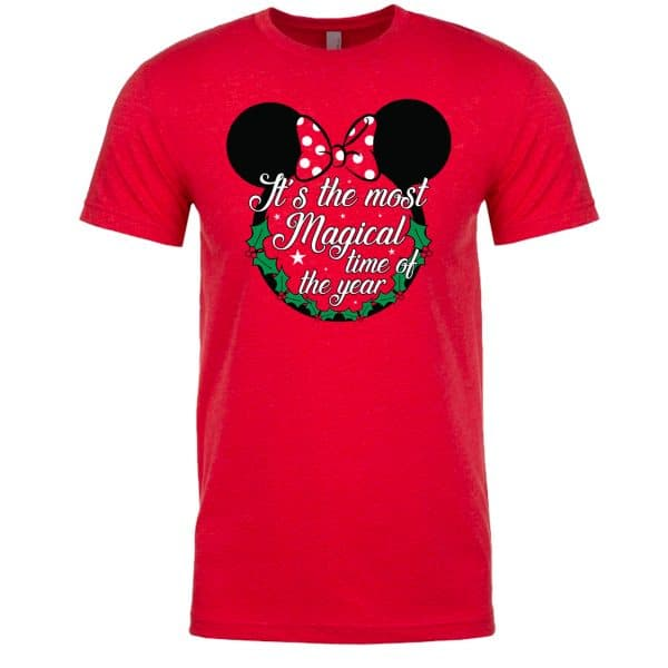 Most-Magical-Time-Of-The-Year-Unisex-Tee-Red