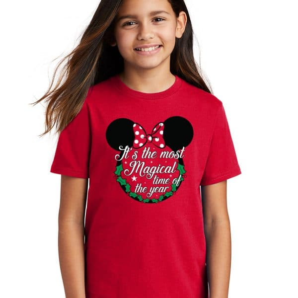 Most-Magical-Time-Of-The-Year-Youth-Tshirt-Red