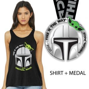 This is the way race-medal and tank top