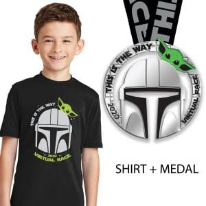 This is the way Youth crew and medal