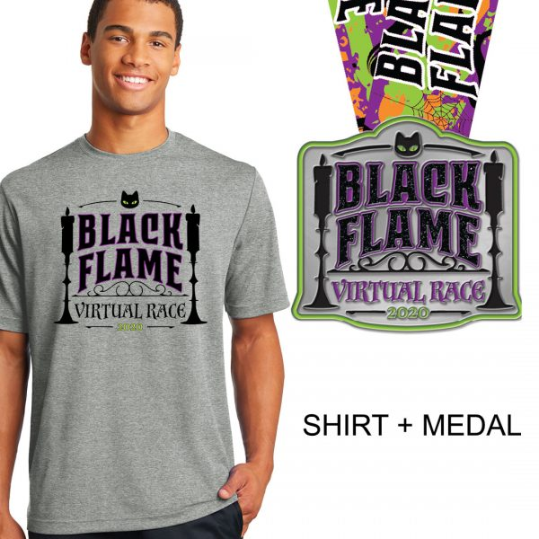 Black-Flame-Race-Unisex-Medal
