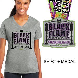 Black-Flame-Race-Vneck-Medal