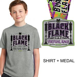 Black-Flame-Race-youth-Medal