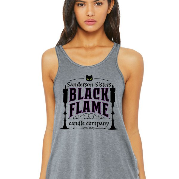 Black Flame Candle Co Flowy Tank
