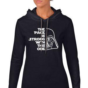 PaceIsStrong-Ladies-hoodie-black